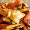 Roasted Parsnips and Carrots with Rosemary & Honey