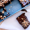 Nutella Cashew Brownies