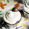 Secret Recipe Club - Malt Chocolate Cupcakes