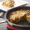 Sweet Potato and Collard Greens Frittata with Smoked Cheddar