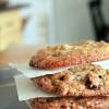 Dark Chocolate, Cherry and Pistachio Cookies