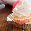 Strawberry and Vanilla Cupcakes for Aimee