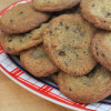 Desserts for the Deserving: Milk Dud Studded Cookies