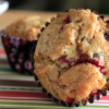 Fair Trade Chocolate and Cranberry Muffins