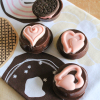 Valentine Chocolate Dipped Oreos