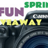 Canon T3i Camera Giveaway!