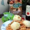 Green Mountain Coffee Caramel Vanilla Cream Coffee Waffles