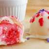 Strawberry Cake Mix Truffles