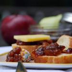 Apple Rhubarb Chutney