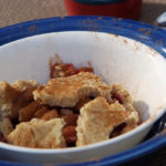 Apple and Pear Cobbler for Lucas