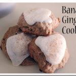 Banana Ginger Breakfast Cookies