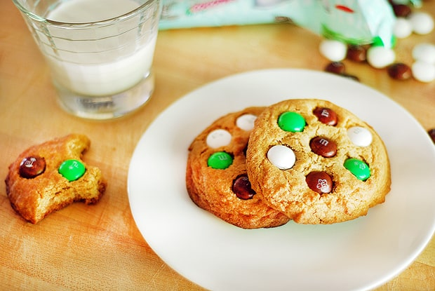 Post image for Coconut M&M Cookies