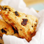 Maple Sugar Bacon, Cheddar & Rosemary Scones