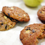 Peanut Butter and Apple Oatmeal Cookies