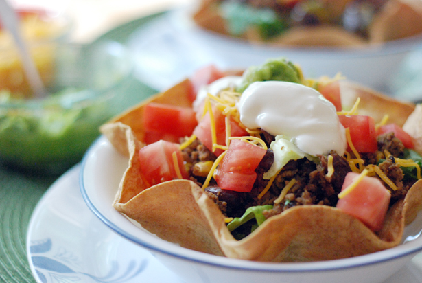 Post image for Turkey Taco Salad