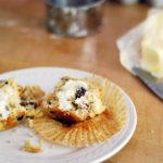 Diner Style Cranberry Walnut Muffins