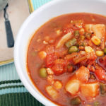 Turkey Burger Soup