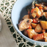 Pork and Beer Skillet Stew & a Le Creuset Giveaway