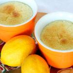 Lemon Soufflé Puddings