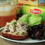 Lipton Superfruit Green Tea & Chicken Salad