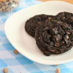 Dark Chocolate Cappuccino Cookies