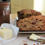 Maple Cranberry Banana Bread