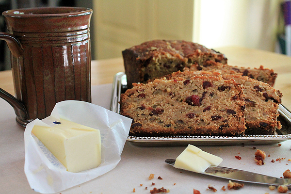 Post image for Maple Cranberry Banana Bread