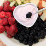 Virtual Baby Shower: Raspberry Lemon Fruit Dip