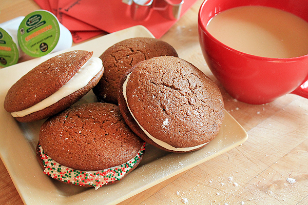Post image for Fair Trade Gingerbread Whoopie Pies & Giveaway