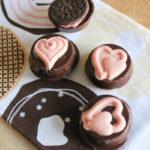 Valentine Chocolate Dipped Oreos