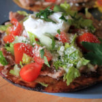 Tex-Mex Tostadas and Food Fanatic