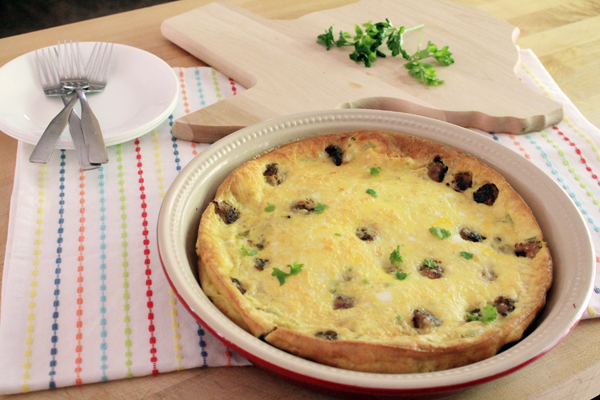 Post image for A Surprise for Megan: Chile and Sausage Oven Frittata