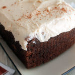 Chocolate Chai Pound Cake with Chai Cream Cheese Frosting