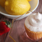 Strawberry Lemon Cupcakes for Jamie