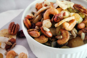 Tropical Trail Mix by Bluebonnets & Brownies