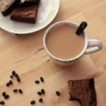 Dark Chocolate Coffee Brownies