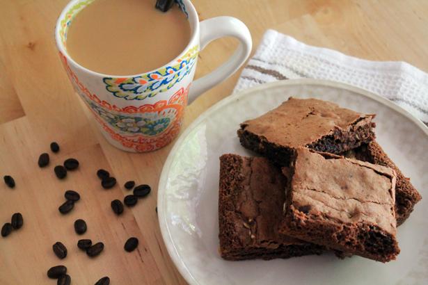 Dark Chocolate Coffee Brownies Recipe Bluebonnetbaker