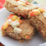 Candy Corn White Chocolate Blondies Recipe