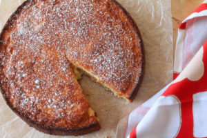 Meyer Lemon Butter Cake