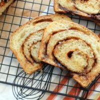Banana Yeast Bread on BluebonnetBaker.com