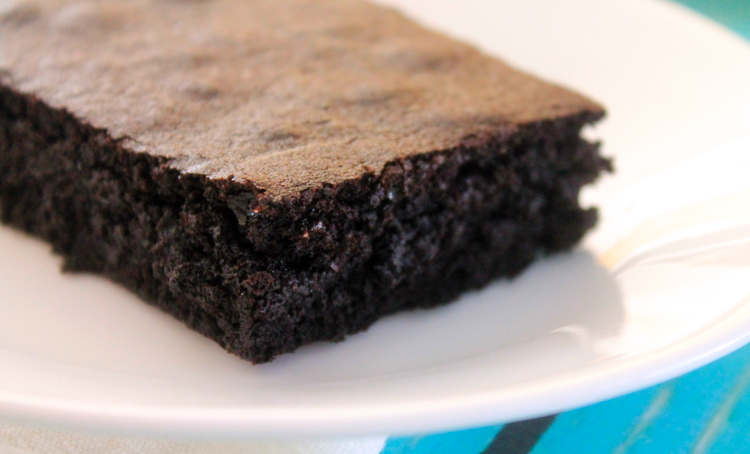 Brownies for Two on BluebonnetBaker.com