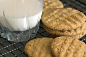Maple Peanut Butter Cookies on BluebonnetBaker