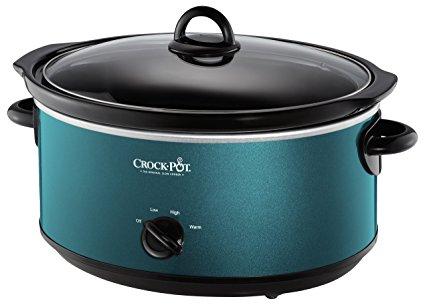 Crockpot SCV700-KT Deisgn to Shine 7QT Slow Cooker, Turquoise