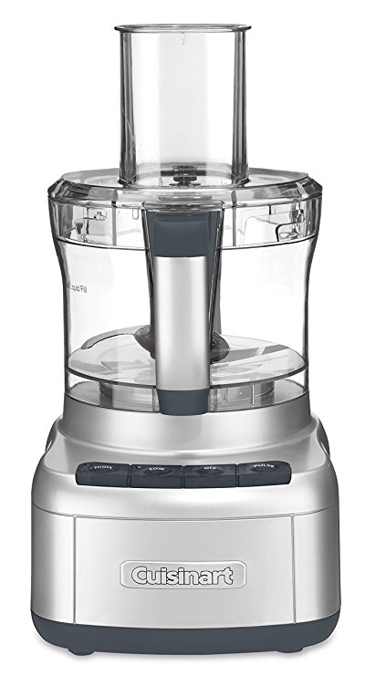 Cuisinart FP-8SV Elemental 8-Cup Food Processor, Silver